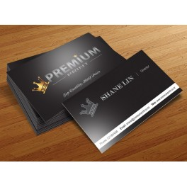 200 Matt Laminated Double-sided Business Cards
