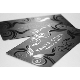 300 UV Coated & Matt Laminated Business Cards