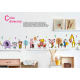 Animal Band Wall Stickers